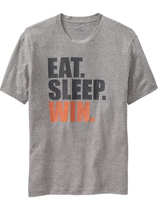 Men's Active By Old Navy Godry Graphic Tees - On med grey heather - Old Navy Canada