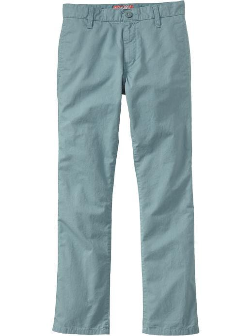 Old Navy Boys Skinny Twill Pants - Lake como