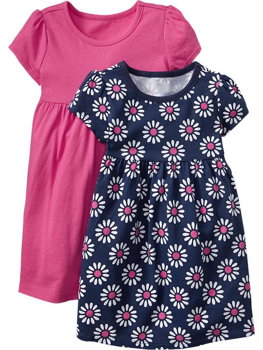 Old Navy Tee Dress 2 Packs For Baby - In the pink - Old Navy Canada