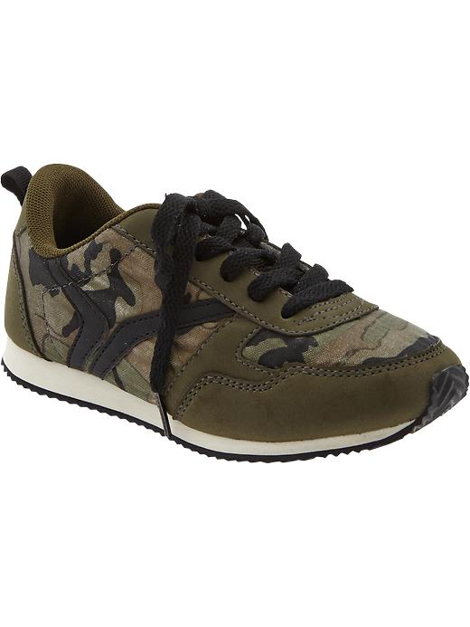Boys Active By Old Navy Sneakers - Camo olive - Old Navy Canada