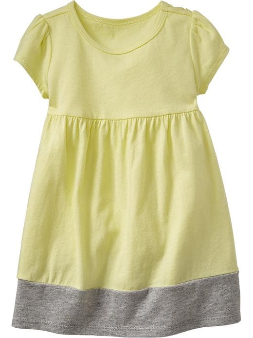 Old Navy Color Block Jersey Dresses For Baby - Surfboard yellow - Old Navy Canada