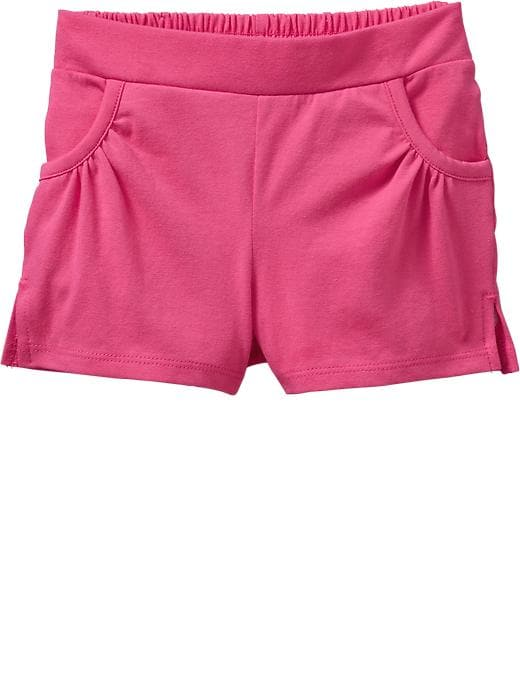 Old Navy Pull On Jersey Shorts For Baby - In the pink - Old Navy Canada
