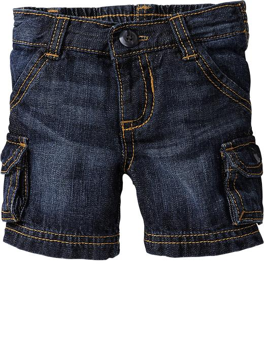 Old Navy Cargo Shorts For Baby - Denim