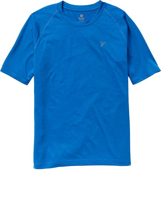 Men's Active By Old Navy Moisture Wicking Tees - Blue bloods polyester - Old Navy Canada