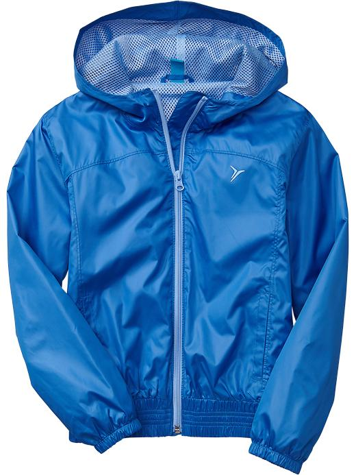 Girls Active By Old Navy Rain Jackets - Color me blue - Old Navy Canada