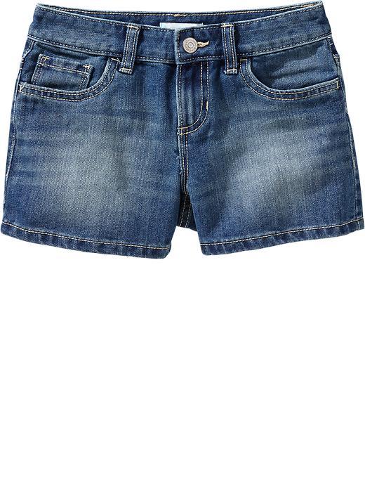 Old Navy Girls Denim Shorts - Medium wash