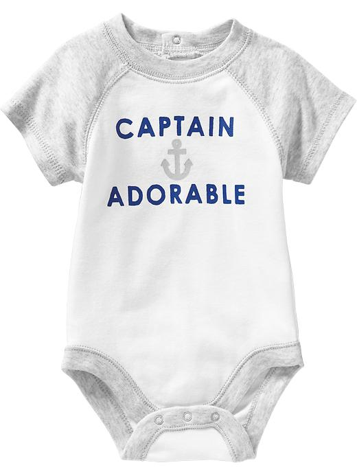 Old Navy Nautical Graphic Bodysuits For Baby - Calla lilly - Old Navy Canada