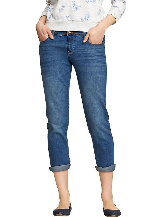 Old Navy Women's Cropped Skinny Boyfriend Jeans - Next day - Old Navy Canada