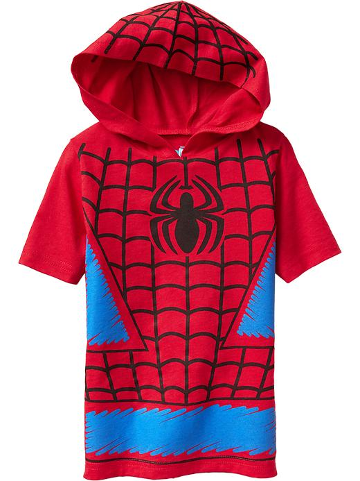 Old Navy Marvel Comics Hooded Super Hero Tees For Baby - Spiderman