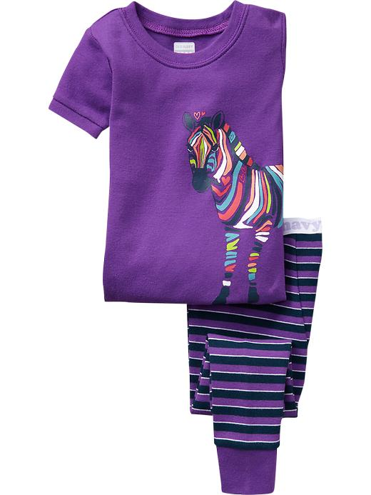 Old Navy Zebra Graphic Pj Sets For Baby - Purple stripe - Old Navy Canada