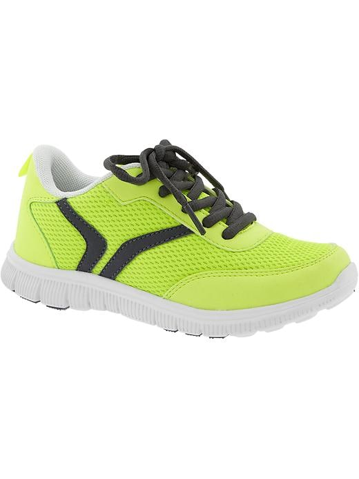 Boys Active By Old Navy Sneakers - Electric neon