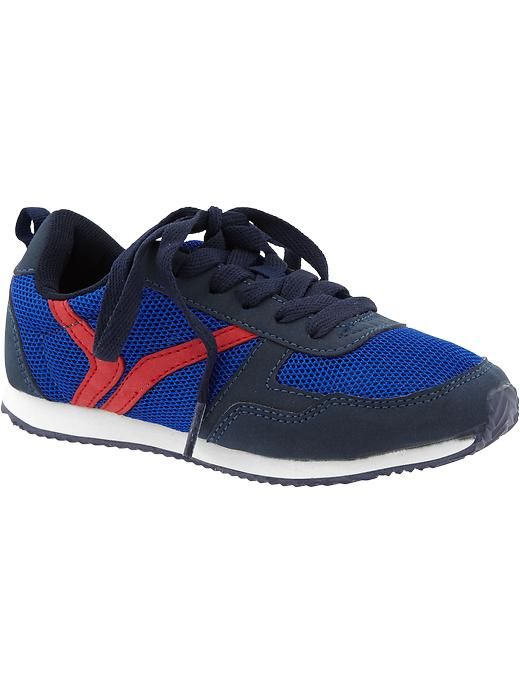 Boys Active By Old Navy Sneakers - Navy - Old Navy Canada
