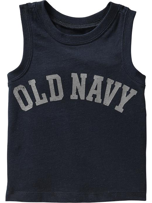 Old Navy Graphic Tanks For Baby - Good night nora ny - Old Navy Canada