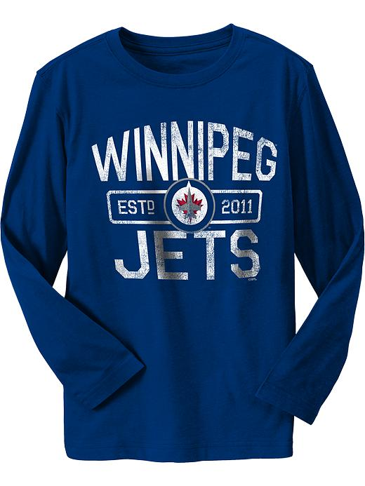 Old Navy Boys Nhl Team Graphic Tees - Winnipeg hockey