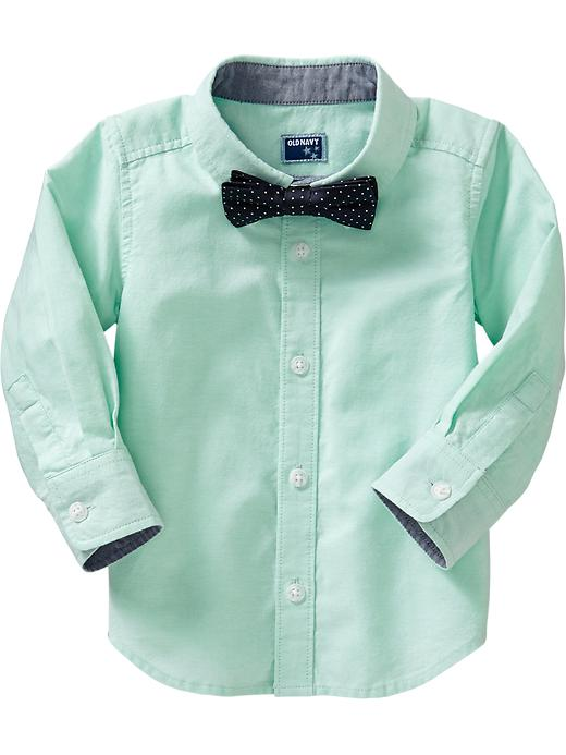 Old Navy Shirt & Bow Tie Sets For Baby - Make a mint - Old Navy Canada