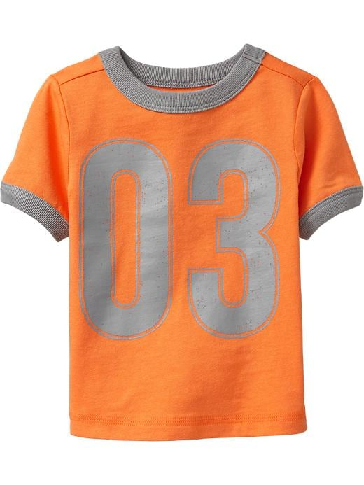 Old Navy Team Style Number Tees For Baby - Golden poppy - Old Navy Canada