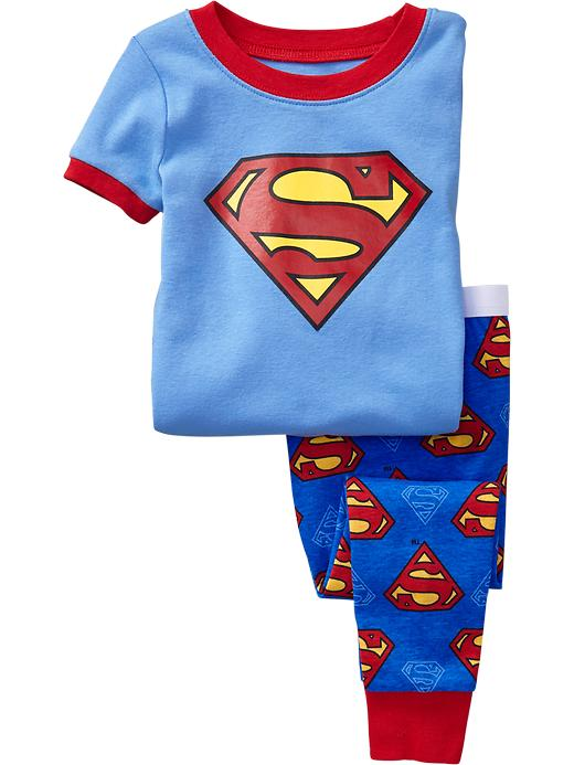 Old Navy Superhero Pj Sets For Baby - Superman - Old Navy Canada