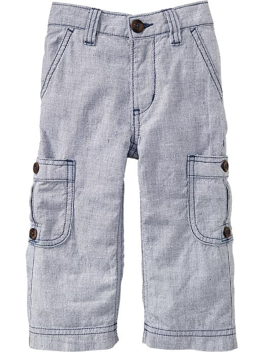 Old Navy Dressy Oxford Cargos For Baby - In the navy