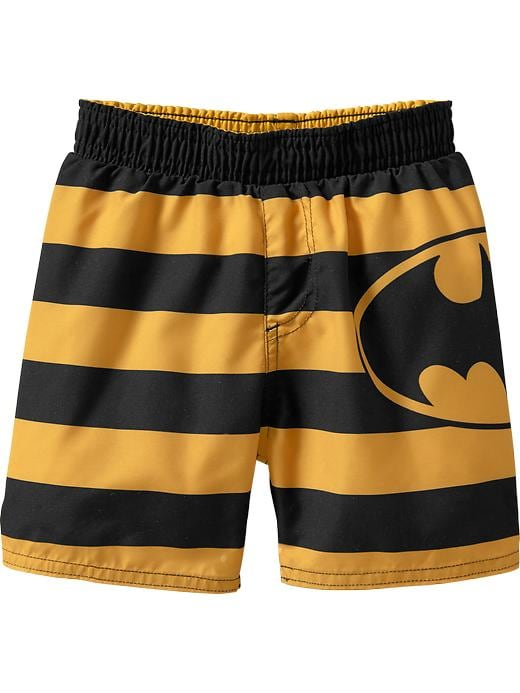 Old Navy Licensed Character Swim Shorts For Baby - Batman