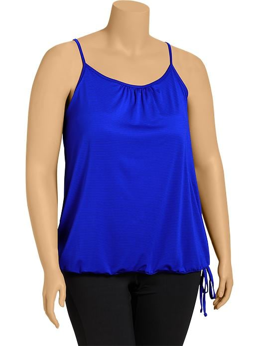 Women's Plus Active By Old Navy Bubble Tanks - Royal rowena - Old Navy Canada