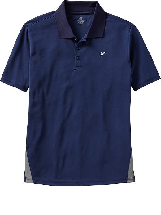 Men's Old Navy Active Pique-Mesh Polos