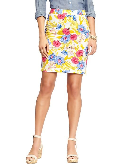 Women's Twill Pencil skirt