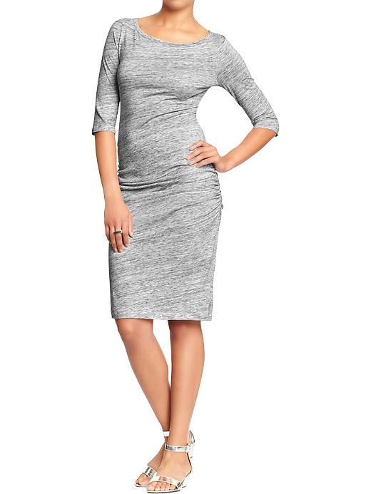 Women's ¾-Sleeve Jersey Dress