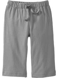 Drawstring Jersey Pants for Baby
