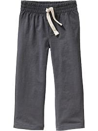 Jersey Pull-On Pants for Toddler Boys