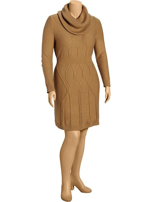 Women's Cable-knit Sweater Dress