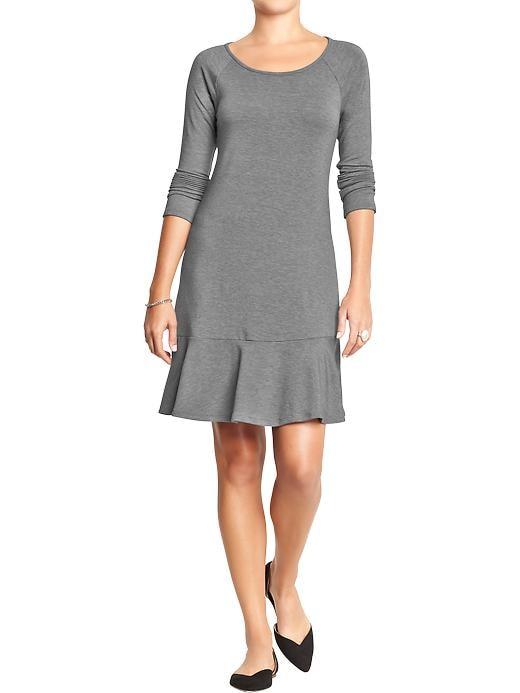 Women's Drop-waist Jersey Dress