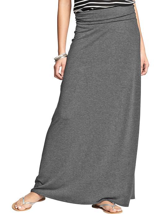 Women's Rollover-Waist Maxi Skirts