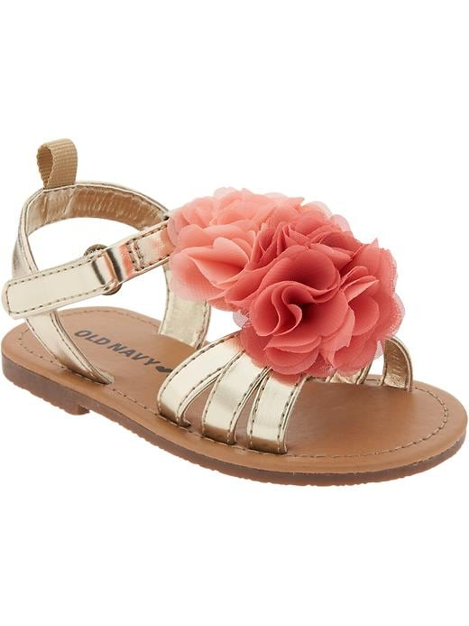 Flower-strap Sandals for Baby