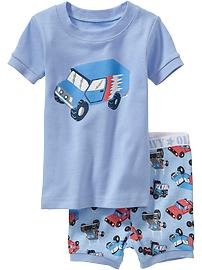 Vehicle PJ Sets for Baby