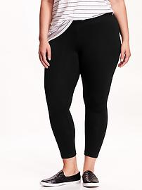 Women's Plus Jersey Leggings