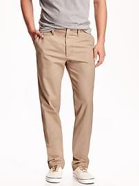 Straight Broken-In Khakis for Men