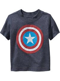 Marvel&#153 Captain America Graphic Tee for Toddler