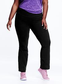Women's Plus Boot-Cut Yoga Pants
