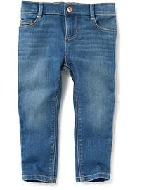 Medium-Wash Skinny Jeans for Toddler Girls