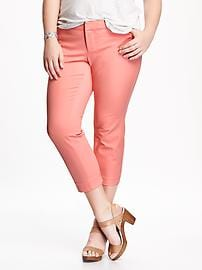 Smooth & Slim Plus-Size Pixie Pants