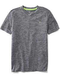 Go-Dry V-Neck Tee for Boys