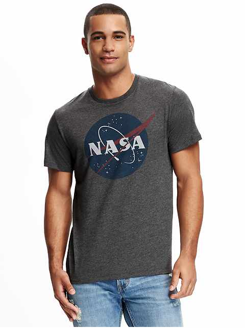 NASA Gender-Neutral Graphic Tee for Men & Women
