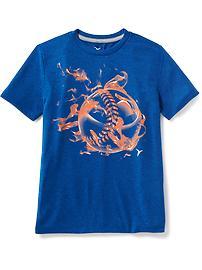 T-shirt à imprimé Go-Dry pour garçon