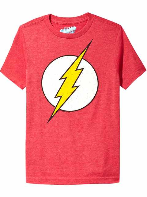 T-shirt The Flash de DC ComicsMC pour garçon