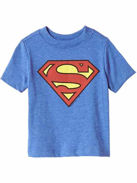 Unisex DC Comics™ Superman Tee for Toddler