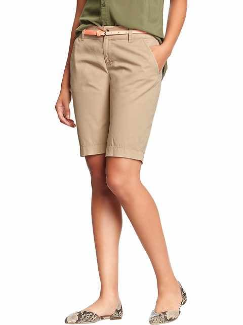 Women's Stretch Twill Bermudas (11