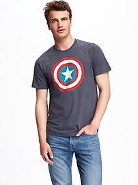 Marvel&#153 Captain America Graphic Tee for Men