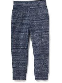Patterned Joggers for Toddler Boys