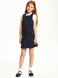 Twill Uniform Jumper for Girls