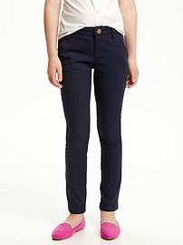 Uniform Skinny Pants for Girls